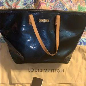 Louis Vuitton. Monogram Vernis PM Blue
